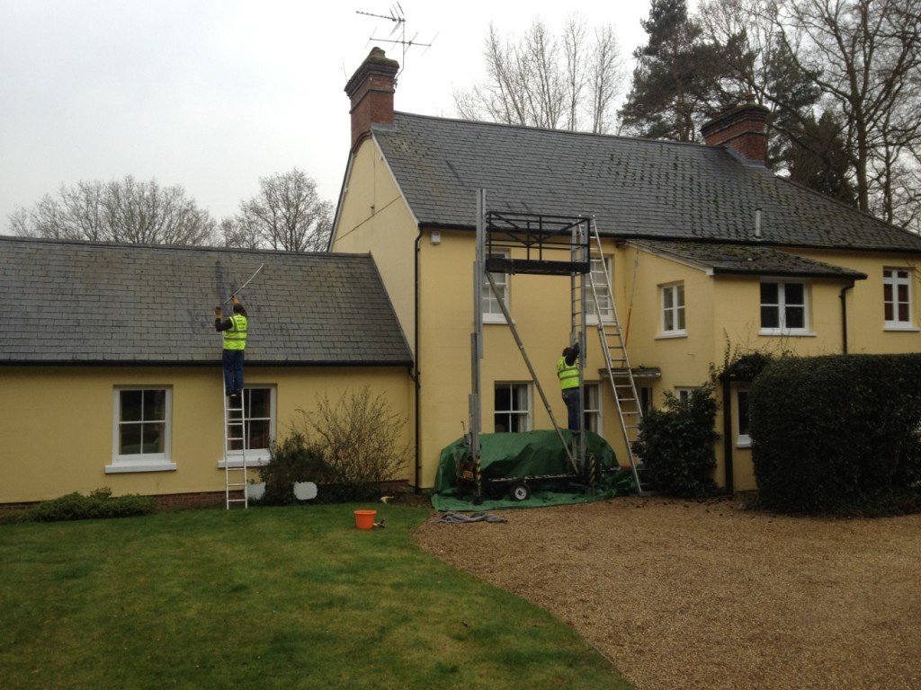 Roof cleaning Epsom