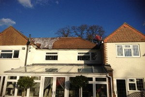 roof cleaning Leatherhead